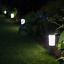 Mini-London-Solar-Powered-Outdoor-Garden-Post-Lights-Set-of-4 thumbnail 2