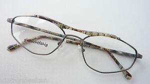 Angemessen Brille Fassung Sportlich Metallbrille+hornoptik Markengestell Antiklook Grösse M Augenoptik
