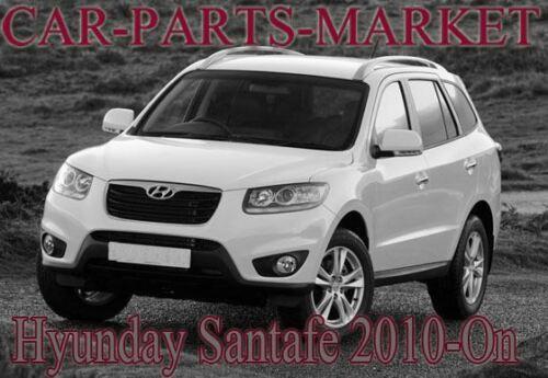 For Hyundai Santa Fe 2010-2012 Right Driver side Flat wing mirror glass