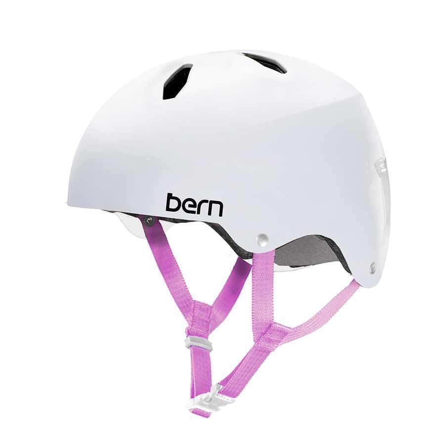 Bern Diabla DaSie Mädchen Jugend Eps Team Passform Fahrrad Helm Weiß S,M,L,