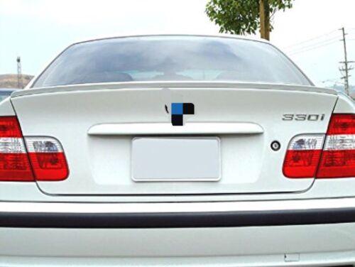 JDM Flex trunk lip spoiler wing 99-05 FOR BMW E46 3-SERIES 325i 328i 330i SEDAN