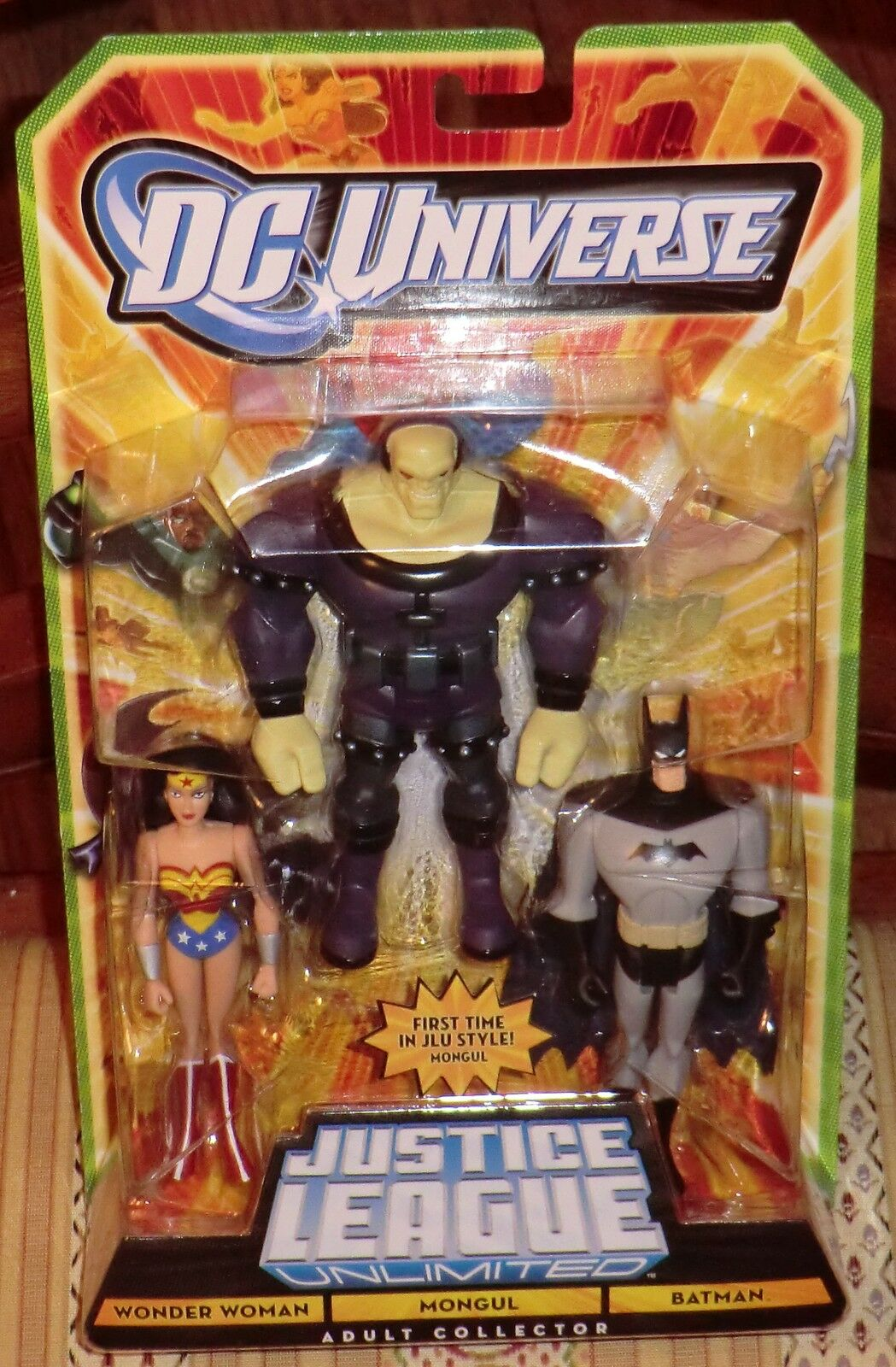Dc - universum jlu unbegrenzte batman, mongul, wonder woman - matty exklusiv