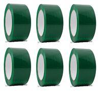 "2"" x 110 yd Green 6 Rolls Packaging Packing Tape Carton Sealing - Free Shipping"