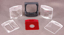 Vtg Polaroid Special Effects Filter Kit-F101 - F 105 + F106 Holder-Black Case