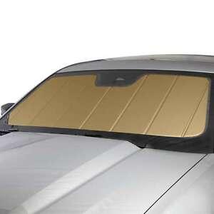 covercraft gold sunscreen folding sun shade custom fit heat shield uv10963gd ebay. Black Bedroom Furniture Sets. Home Design Ideas
