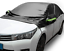 MATCC Car Cover Half Top Cover Waterproof Large Car Windshield Snow Cover from