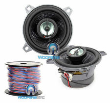 "pkg FOCAL 100CA1SG  4"" CAR AUDIO 2-WAY COAXIAL SPEAKERS + TRUE 16 GAUGE 50 FT SP"