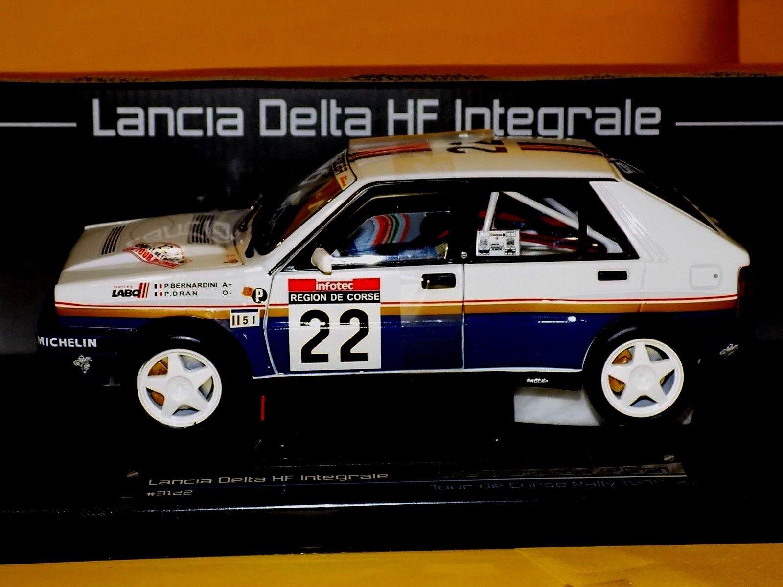 Lancia Delta HF Integrale  Bernardini Tour De Corse 1990 SUN STAR 3122 1 18