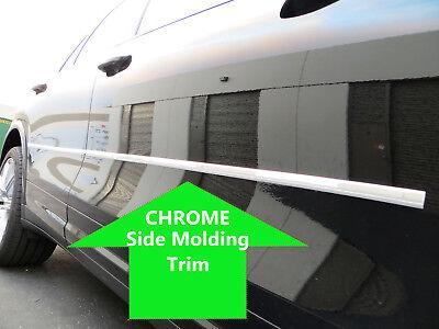 2pcs CHROME SIDE DOOR BODY Molding Trim Stripe for infin models 2000-2011