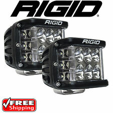 RIGID Industries 26231 Pair of D-SS Side Shooter LED Lights Driving Projection