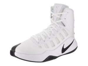 86becb7df5ce NIKE Men s Hyperdunk 2016 TB Basketball Shoes White Black 13 D(M) US ...
