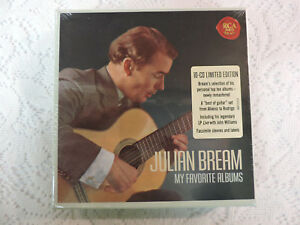Julian-Bream-My-Favorite-Albums-10-CD-Limited-Edition-Set-RCA-Red-Seal-NEW