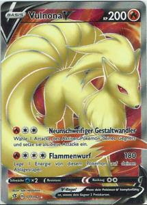 HoloNM Deutsch Vulnona V 026//192 Clash der Rebellen Pokemon Karte