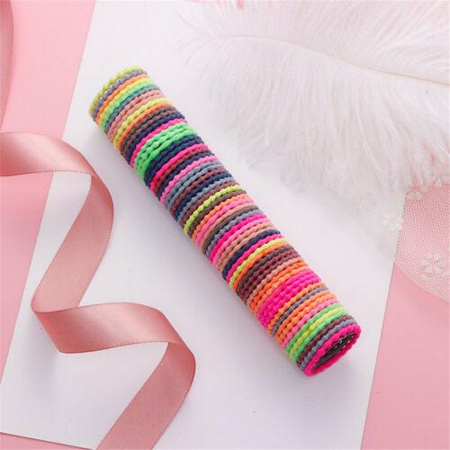 Elastische Haarbänder Gummibänder Mädchen Haarschmuck Nylon Haar Seile