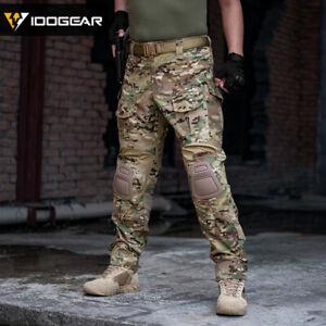 prețuri grozave nuante de 50% reducere IDOGEAR G3 Combat Pants Tactical Pantaloni w/ Ginocchiere Army ...