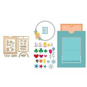Change-Large-Slider-Metal-Cutting-Dies-Stencil-Scrapbook-Embossing-Card-Making