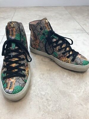 Gucci Major High-Top Sneaker, Size 6 G