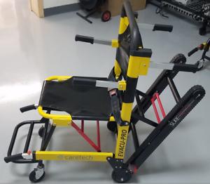 Caretech Evacu Pro Stair Chair 400lb Capacity Stryker