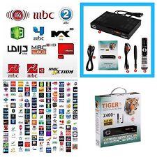 Tiger Z400 Plus HD Arabic IPTV TV Receiver Royal Channels MBC Bein Sports OSN
