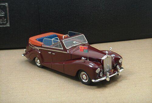 1 43 Royal Rolls-Royce plata Wraith todas las condiciones meteorológicas Cabrio 1959, rojo (Abrir)