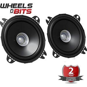 JVC-CS-J510X-5-25-034-13cm-Dual-Cone-500-Watts-Car-Van-Door-Coaxial-Speakers-Pair