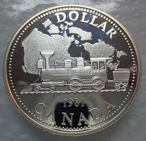 1981-CANADA-CPR-CENTENNIAL-PROOF-SILVER-DOLLAR-COIN