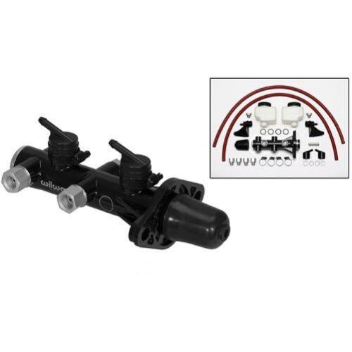 Wilwood 260-14244-BK Remote Tandem Master Cylinder