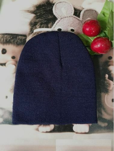New Baby Unisex Toddler Infant Boys Girls Beanie Hat Soft Cute Cap Cotton LC
