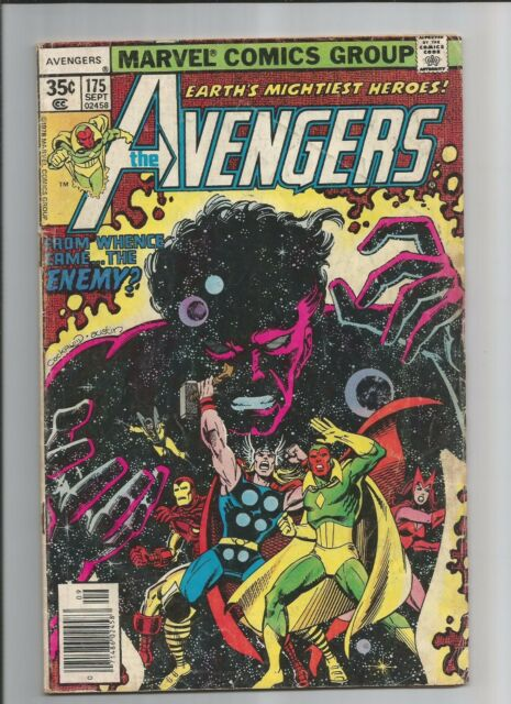 THE AVENGERS #175  VG+ VERY GOOD+  BRONZE AGE MARVEL COMICS 1978