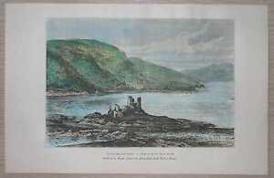 1879-Reclus-print-EILAN-DONAN-CASTLE-LOCH-DUICH-SCOTLAND-60