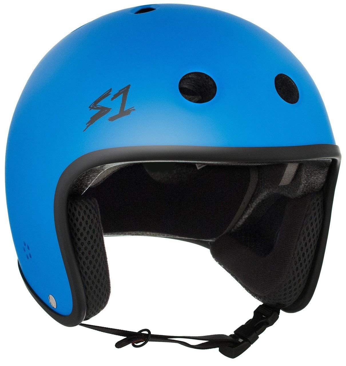 S1  Retro Lifer Helmet - Cyan Matte  fast shipping worldwide