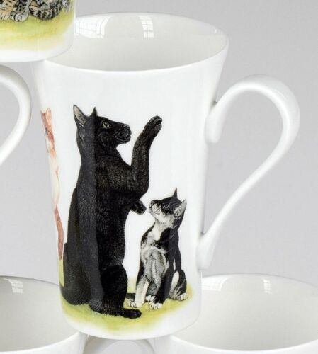 Roy Kirkham cats collection chat noir Henkel tasse tasse 0,35 L