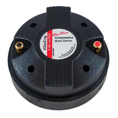 "BlastKing 72BDUM180 Screw-On 1"" 450 Watt 8 Ohm Titanium Compression Horn Driver"