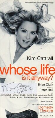 Kim Cattrall Autograph - Sex and the City - Police Academy ...