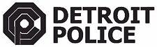 ROBOCOP ( Design 02 ) OCP Detroit Police Car Decal Sticker 20cm x 6cm