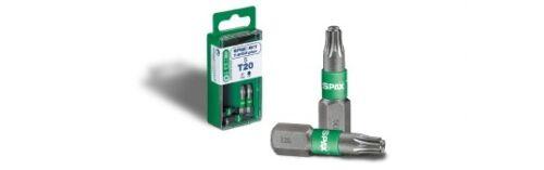 SPAX Bit T-Star Plus T25 25mm Screw Bit Pack of 5 4003530239663