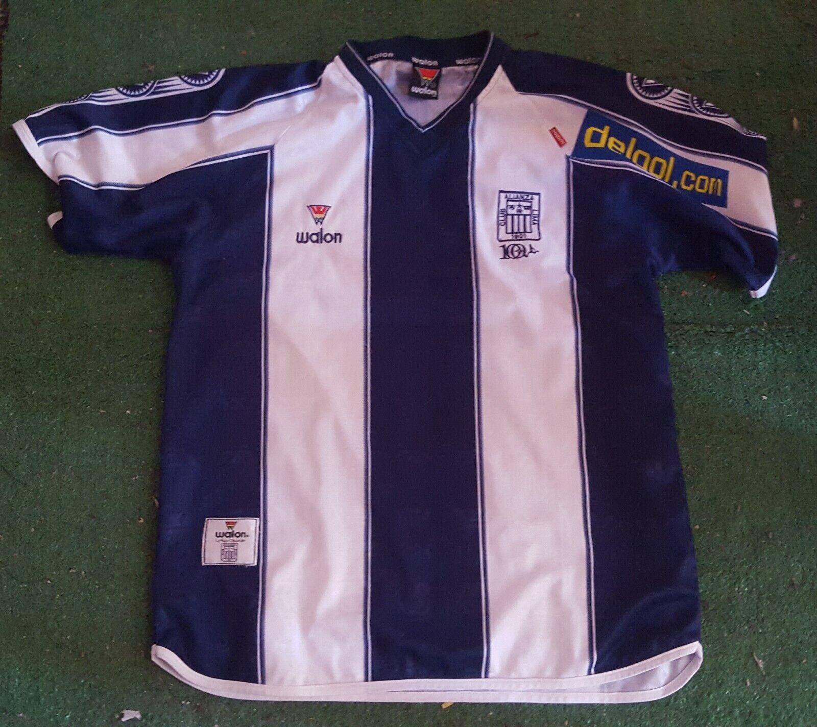 Alianza lima  club 1901 football shirt Maglia Camiseta walon Trikot Peru 2002  ventas al por mayor