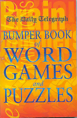 """""""AS NEW"""" Telegraph Group Limited, Daily Telegraph Bumper Book of Word Games and"""