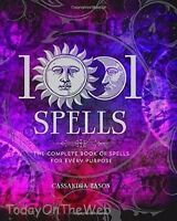 1001 Spells: The Complete Book Of Spells For Every Purpose By Cassandra Eason on sale
