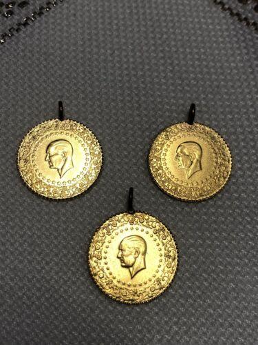 Türkische Goldmünze Ceyrek Altin 1,75 Gramm 22karat 916 Gold