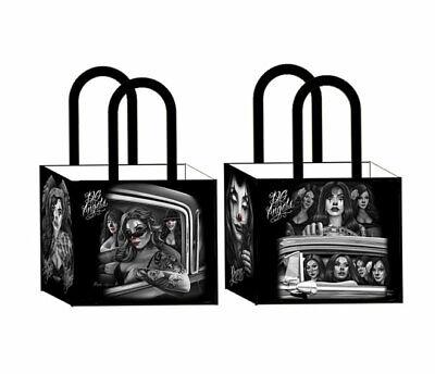 DGA David Gonzales Fresh Cuties Pinup Chicano Art Shopping Tote Bag Reusable