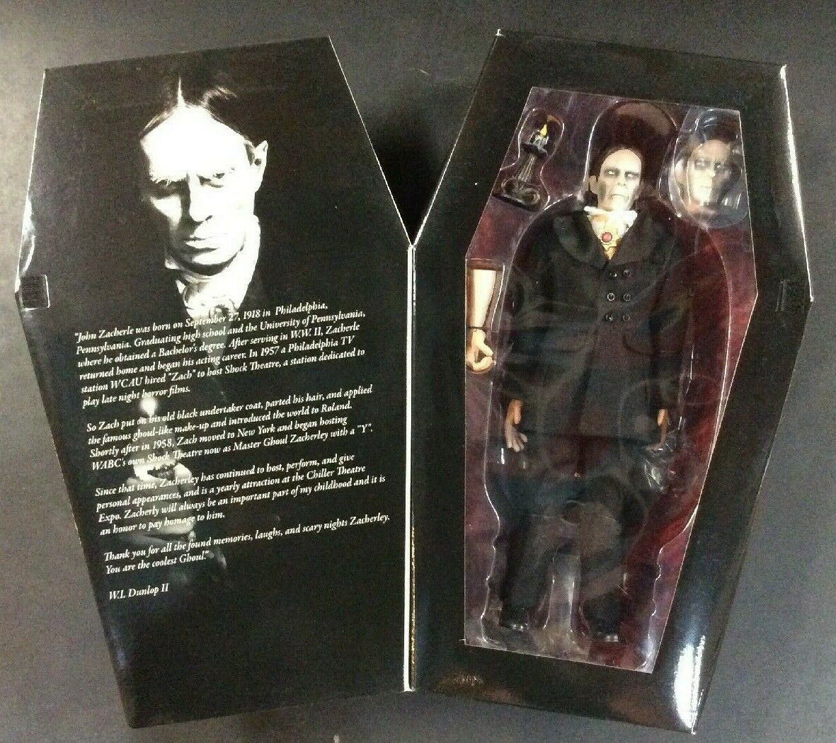 ZACHERLEY THE COOL GHOUL AMOK TIME MONSTARZ COLLECTIBLE 12  FIGURE BRAND NEW