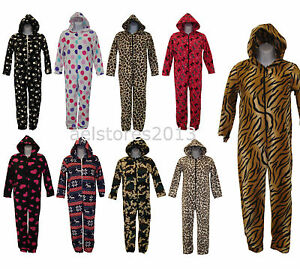 alle in einer kinder m dchen jungen sleepsuit schlafanzug jumpsuit neue vlies ebay. Black Bedroom Furniture Sets. Home Design Ideas