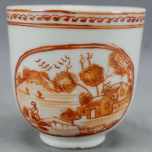 Late-18th-Century-Chinese-Export-Qianlong-Red-Houses-Landscape-Coffee-Cup
