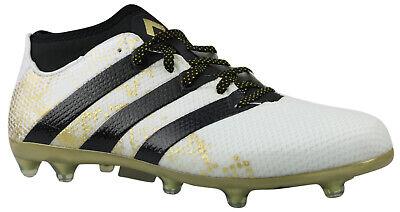 Adidas ACE 16.2 Primemesh FG AG Fußballschuhe Nocken weiß AQ3452 Gr. 40 45 NEU   eBay