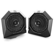 "MTX Polaris RZR Dash Mount All-Weather Speaker Pods 6 1/2"" PAIR FREE SHIPPING"