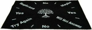 Large Velveteen Tree of Life  Pendulum Dowsing Divination Mat  Wiccan FREE SHIP