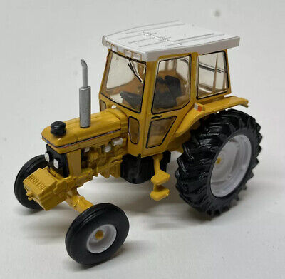GREENLIGHT 48010D 1988 Ford 5610 Tractor Yellow and White Diecast Model 1:64