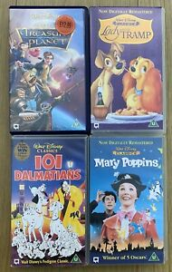 Walt-Disney-Classics-VHS-Bundle-Family-Films