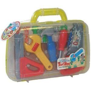 a5d82fca29f5 Peterkin Tool Set Carry Case Childrens 13 Piece DIY Builder Toy ...